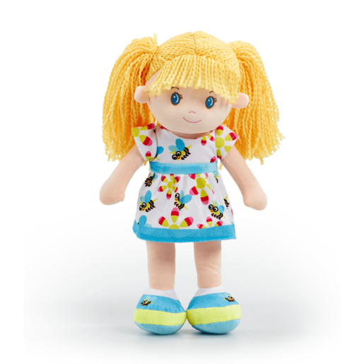 Picture of Snuggle Buddies 40cm Rag Doll - Blue