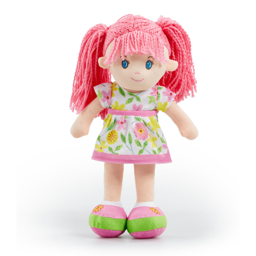 Picture of Snuggle Buddies 40cm Rag Doll - Pink