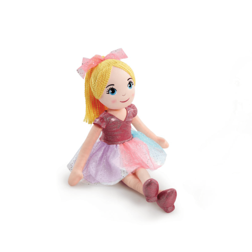 Picture of Snuggle Buddies 70cm Rag Doll - Blonde (Styles Vary)