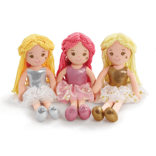 Picture of Snuggle Buddies 35cm Fairy Rag Doll (Styles Vary - One Supplied)