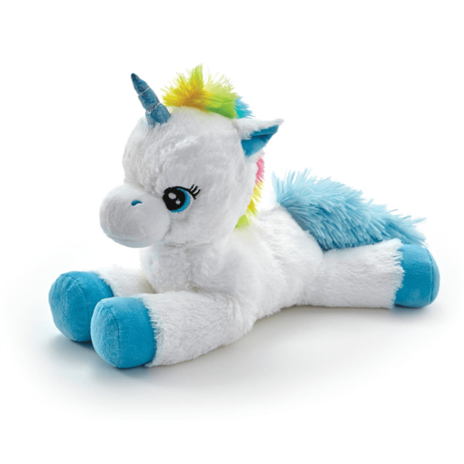 Picture of Snuggle Buddies Laying Unicorn - Blue