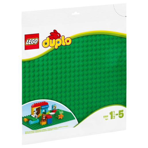 Picture of LEGO Duplo Large Green Building Plate - 2304