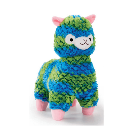 Picture of Snuggle Buddies Fleecy Llama - Blue and Green