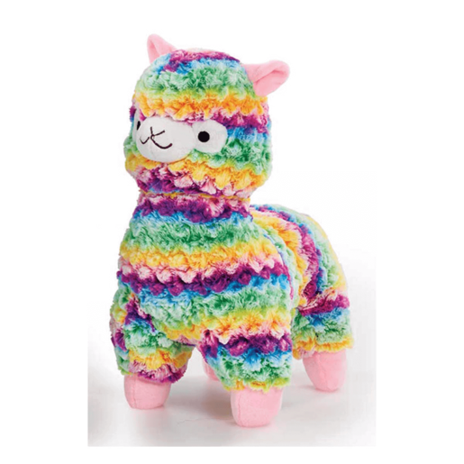 Picture of Snuggle Buddies Fleecy Llama - Rainbow