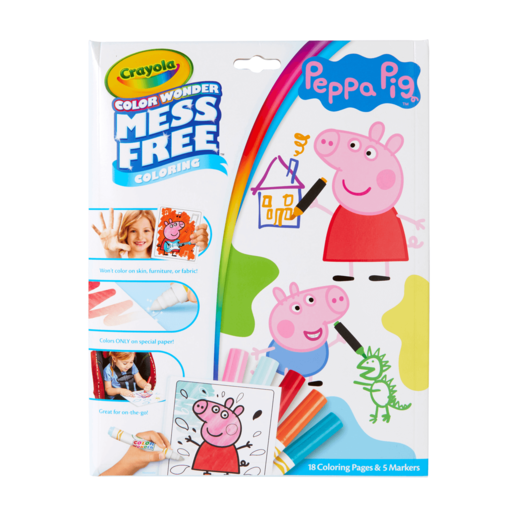 Picture of Peppa Pig Crayola Color Wonder Mess Free Book