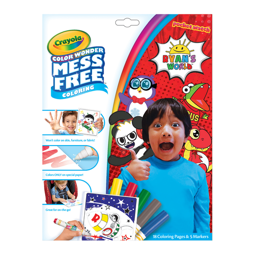 Picture of Ryan's World Color Wonder Mess Free Book