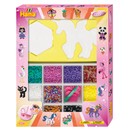 Picture of Hama Beads Giant Open Gift Box