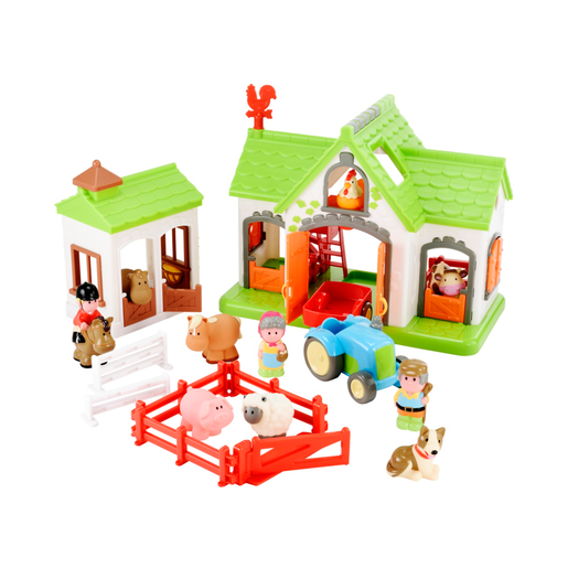 Picture of Happyland Farm Playset