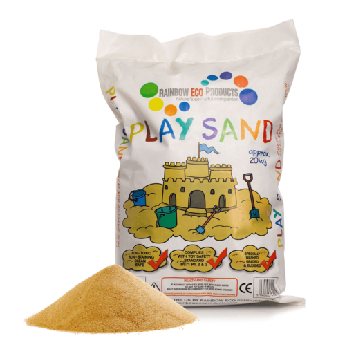 Picture of Play Pit Sand Natural 18Kg (approx.) - Free Standard Delivery