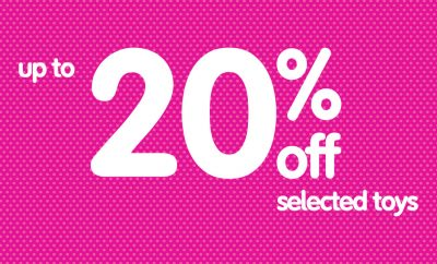 ELC 20 percent off selected toys