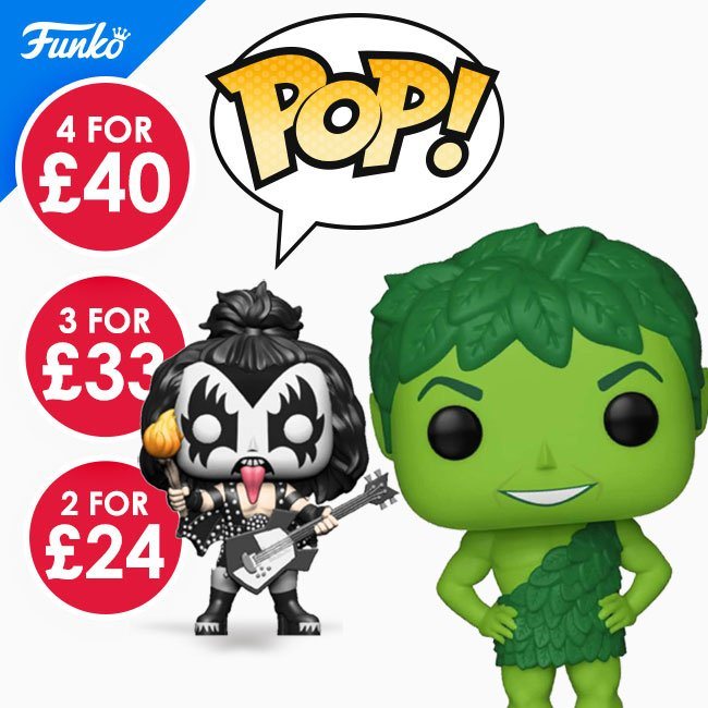Save on Funko Pop at Hawkins Bazaar