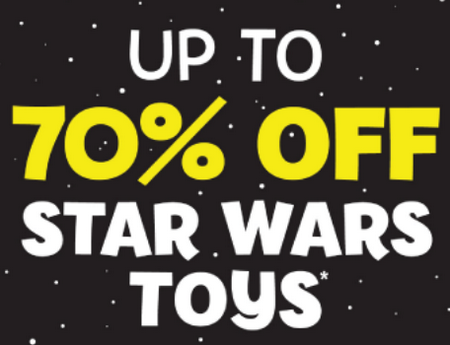 Star Wars 70pc off at The Entertainer