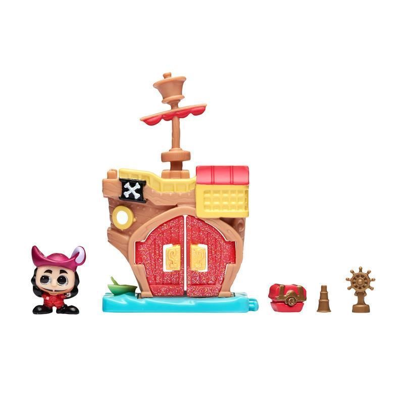 Picture of Disney Doorables Micro Display Play Set - Hook's Pirate Ship