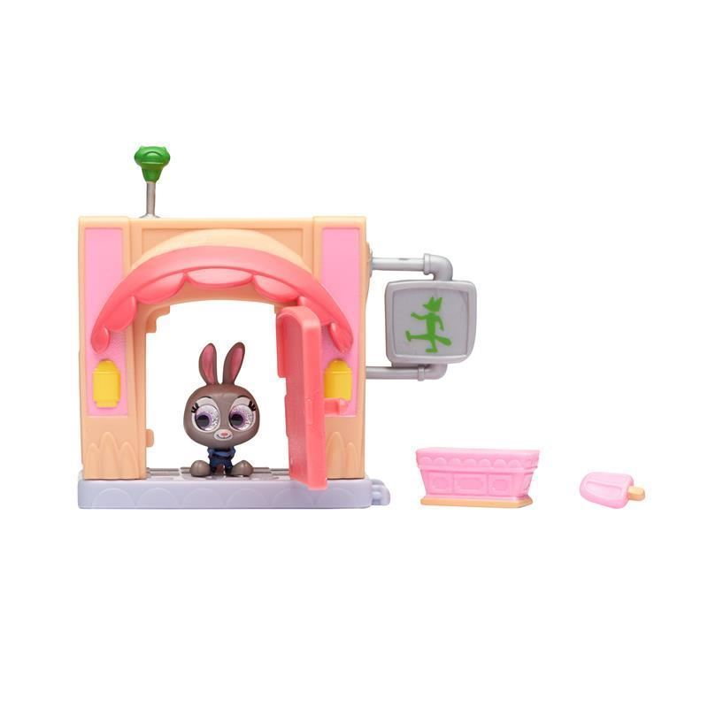 Picture of Disney Doorables Micro Display Play Set - Jimbeaux's Cafe