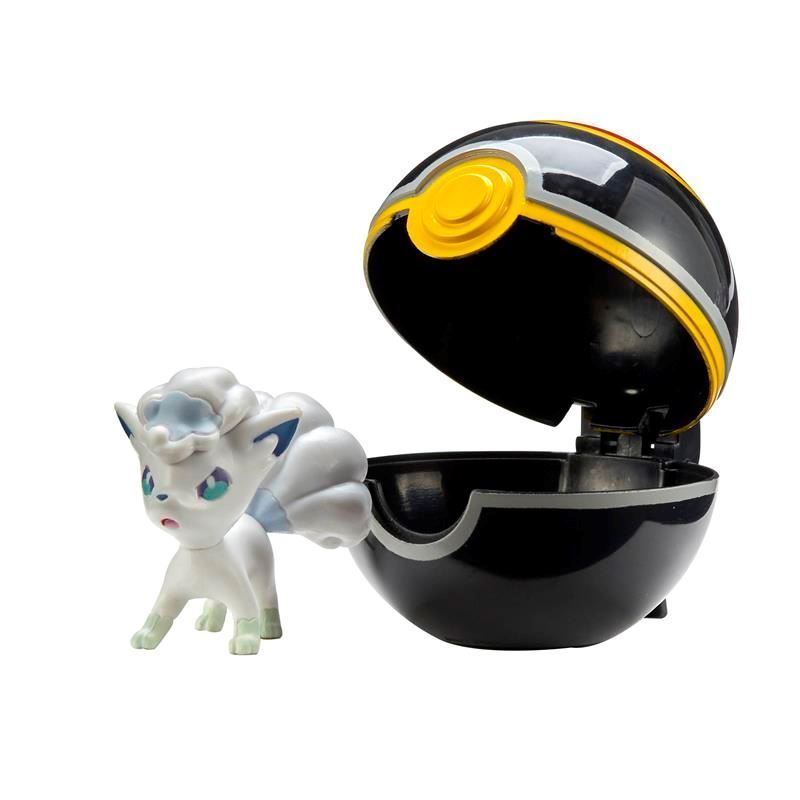 Picture of Pokémon Clip 'N' Go W2 - Alolan Vulpix with Luxury Ball