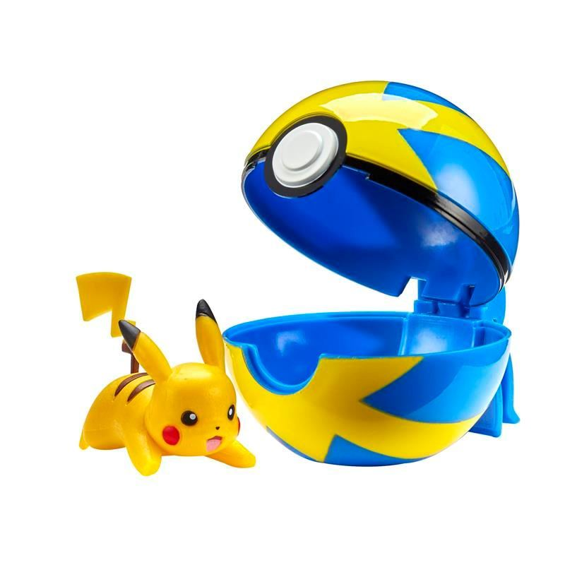 Picture of Pokémon Clip 'N' Go W2 - Pikachu with Quick Ball