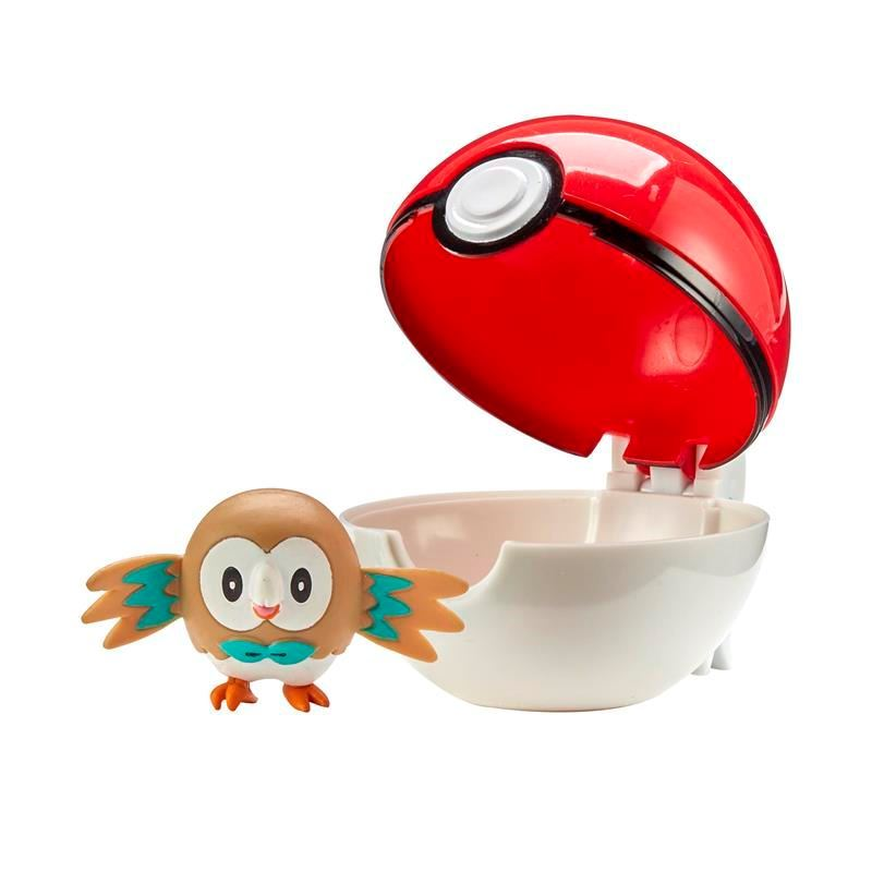 Picture of Pokémon Clip 'N' Go W2 - Rowlet with Regular Ball