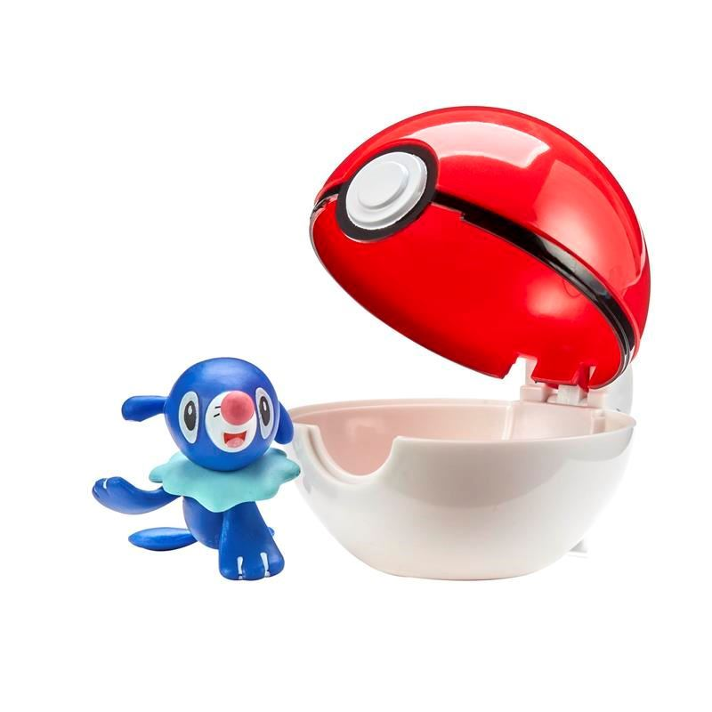 Picture of Pokémon Clip 'N' Go W2 - Popplio with Regular Ball