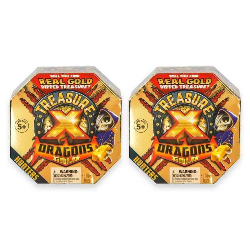 Picture of Treasure X Dragons Gold 2 Pack