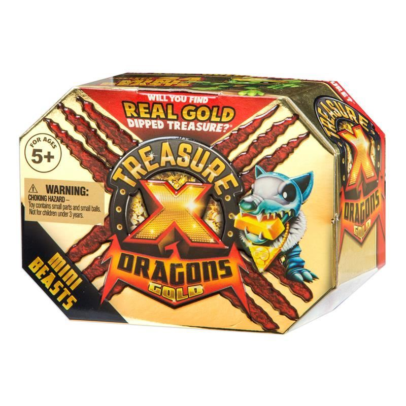 Picture of Treasure X Dragons Gold - Mini Beasts Pack