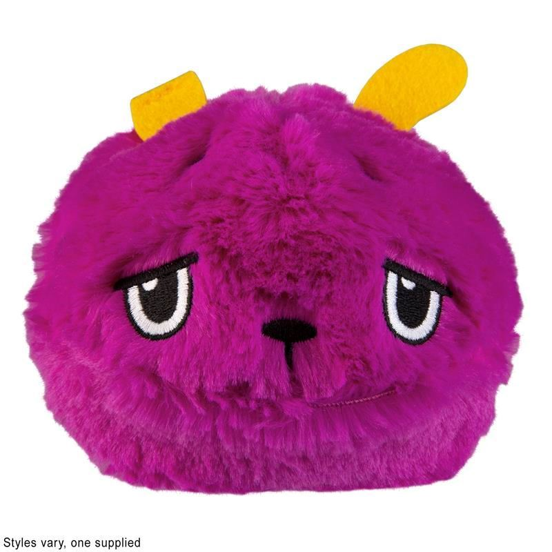 Picture of Odditeez Plopzz Slime Filled Ultra Plush - Grape