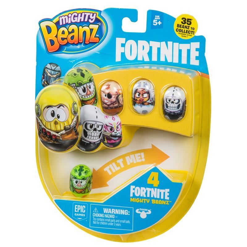 Picture of Mighty Beanz Fortnite 4 Pack Series 1