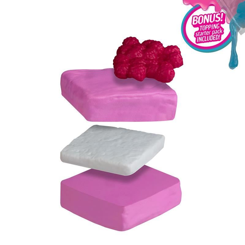 Picture of Orb Slimi Café™ Squishies - Raspberry Square Cake