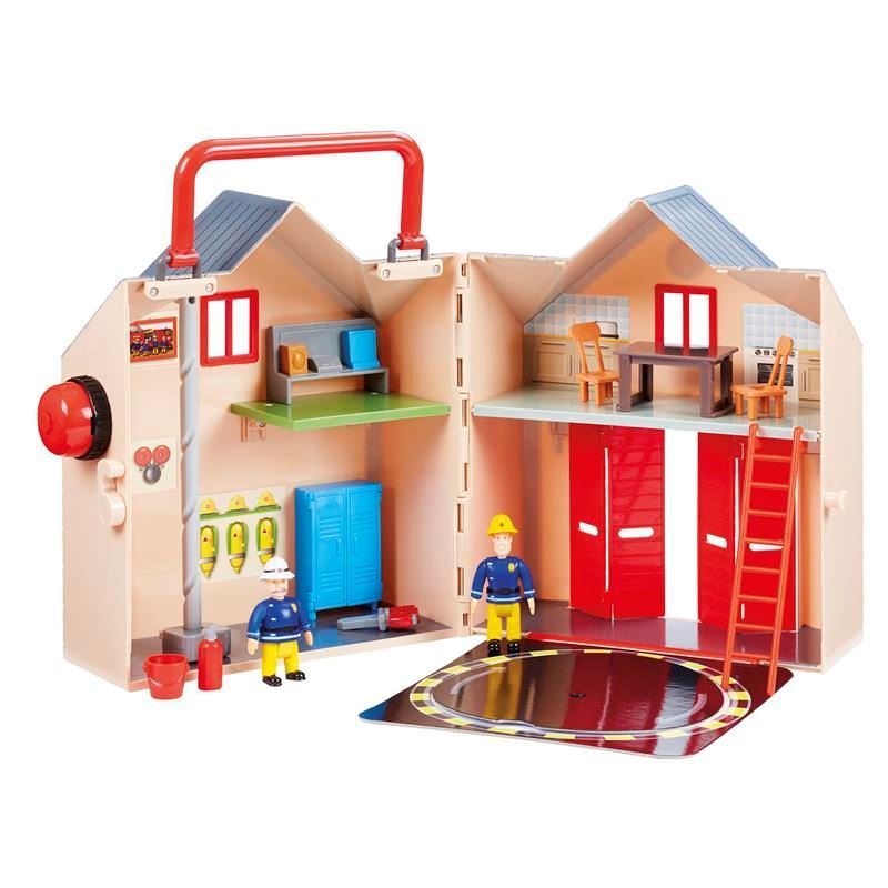 Picture of Fireman Sam Deluxe Fire Station Playset
