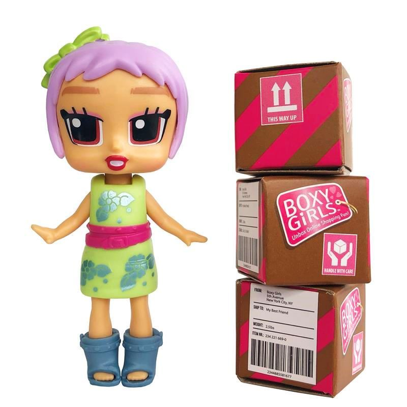 Picture of Boxy Girls Mini Dolls - Bee