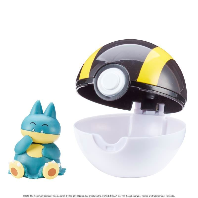 Picture of Pokémon Clip 'N' Go Poké Ball - Munchlax and Ultra Ball