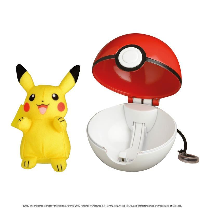 Picture of Pokémon Pop Action Poké  Ball - Pikachu & Poké Ball