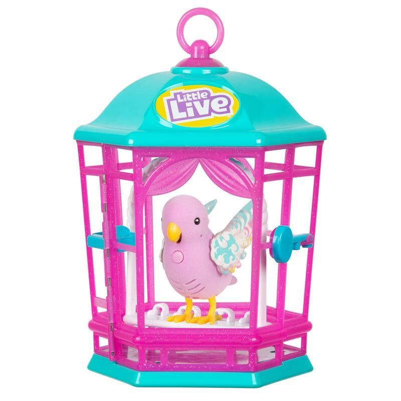 Picture of Little Live - Light Up Songbirds Cage S9 - Rainbow Glow