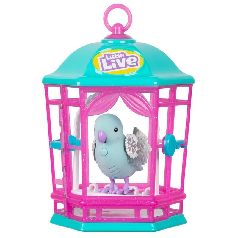 Picture of Little Live - Light Up Songbirds Cage S9 - Snow Gleam