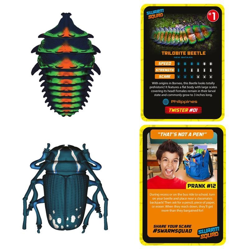 Picture of Swarm Squad Double Pack - Twister #1 & Hopper #3