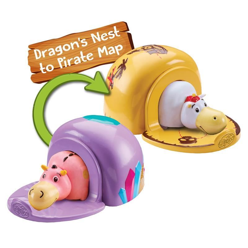 Picture of FlipaZoo World Flip Pods - Dragon's Nest/Pirate Map
