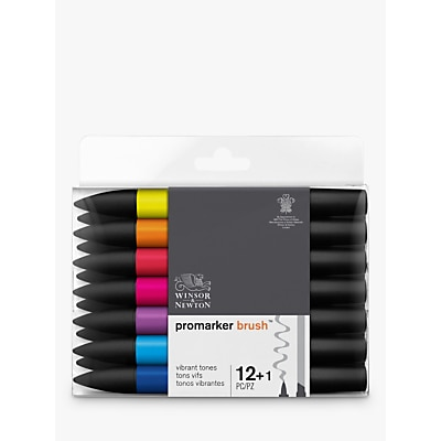 Picture of Winsor & Newton Vibrant Brushmakers, Pack of 12