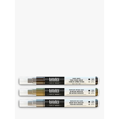 Picture of Liquitex Professional Iridescent Paint Markers, Set of 3