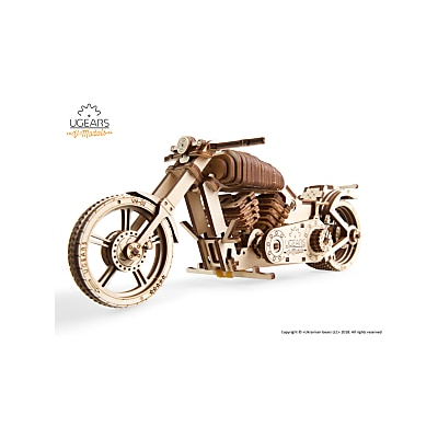 Picture of UGears Bike 3D Puzzle Kit