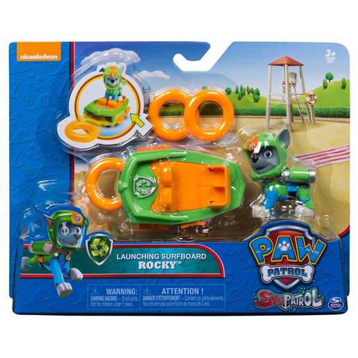 Picture of Paw Patrol Sea Patrol Launching Surfboard - Rocky