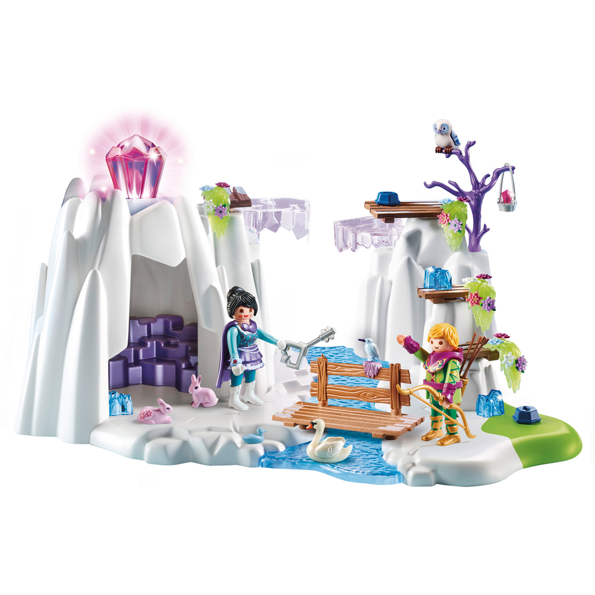 Picture of Playmobil 9470 Magic Crystal Diamond Hideout with Shiny Crystal