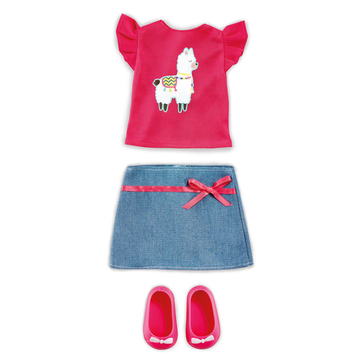 Picture of B Friends No Prob-llama Top & Skirt