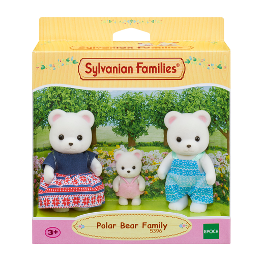 Picture of Sylvanian Families Polar Bear Family