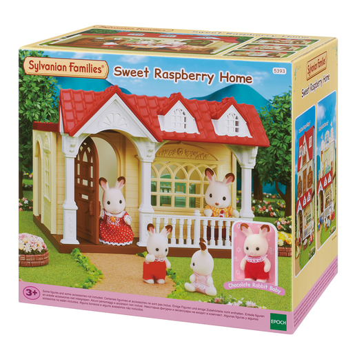 Picture of Sylvanian Families Sweet Raspberry Home
