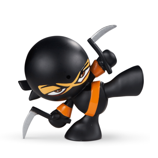 Picture of Fart Ninja - Sickle Black with Orange Belt