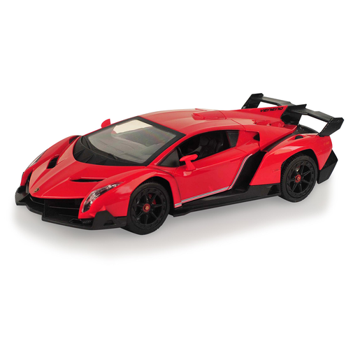 Picture of Lamborghini 1:24 Scale Friction Car - Red and Black