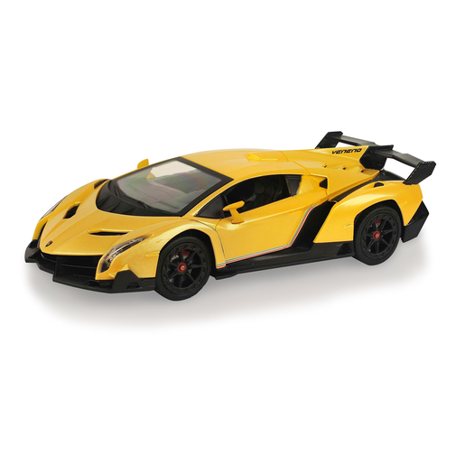 Picture of Lamborghini 1:24 Scale Friction Car - Yellow
