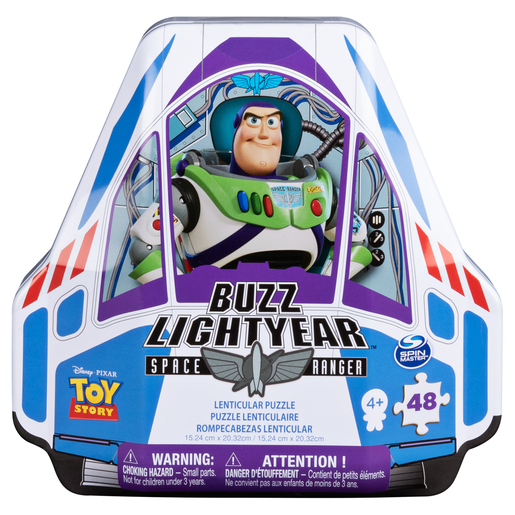 Picture of Disney Pixar Toy Story 4 Buzz Lightyear Space Ranger Puzzle Tin