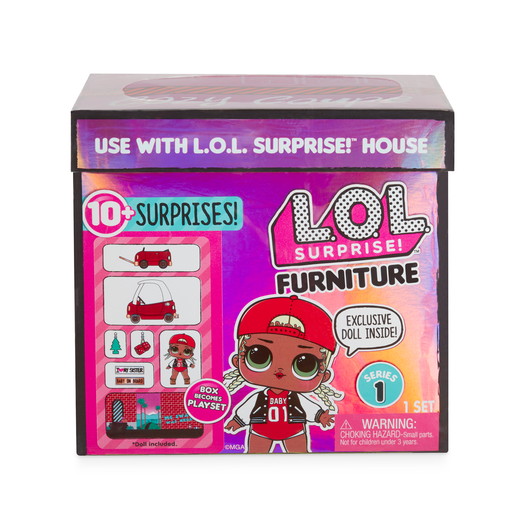Picture of L.O.L. Surprise! Furniture Cozy Coupe with M.C. Swag