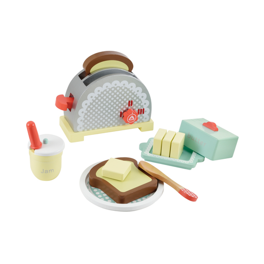 Picture of Early Learning Centre Wooden Toaster Set
