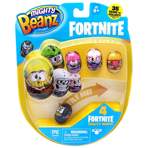 Picture of Mighty Beanz Fortnite 4 Pack - Series 2